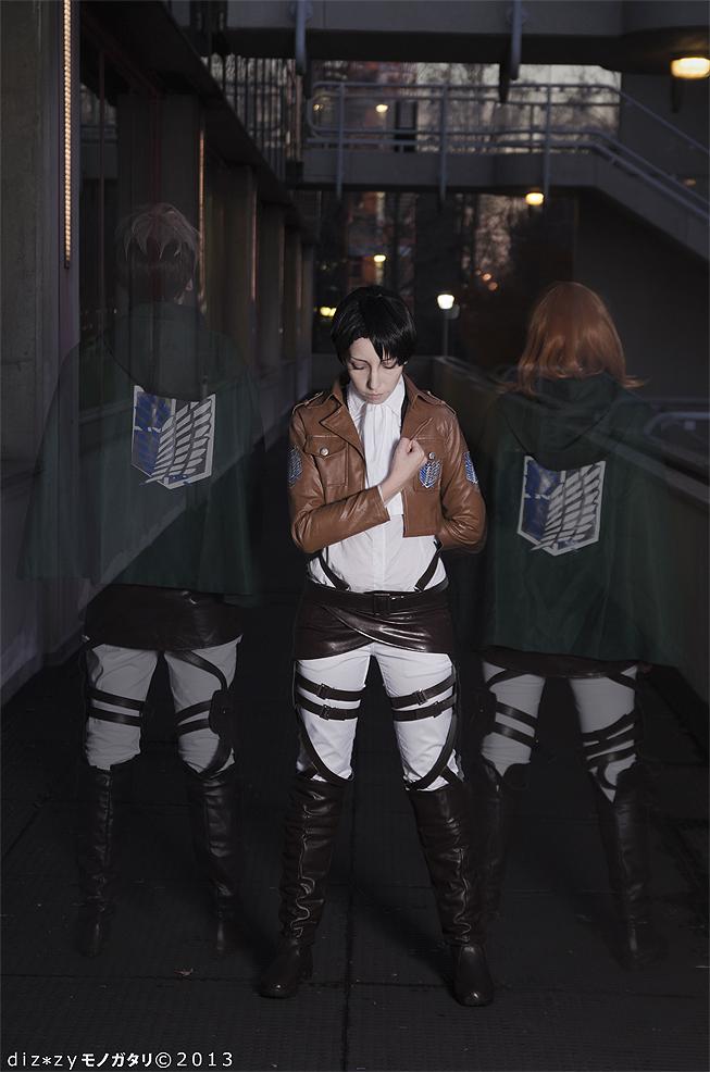 Shingeki No Kyojin ~ Oluo, Levi and Petra by YamatoTaichou