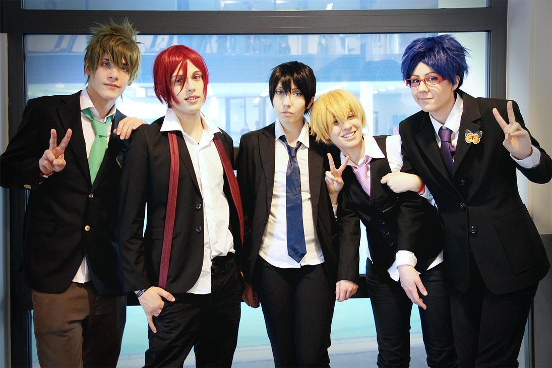 Free! ~ Iwatobi group by YamatoTaichou