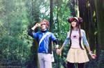 Pokemon BW2 ~ Kyohei and Mei