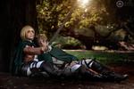 Shingeki No Kyojin ~ Armin protects Jean