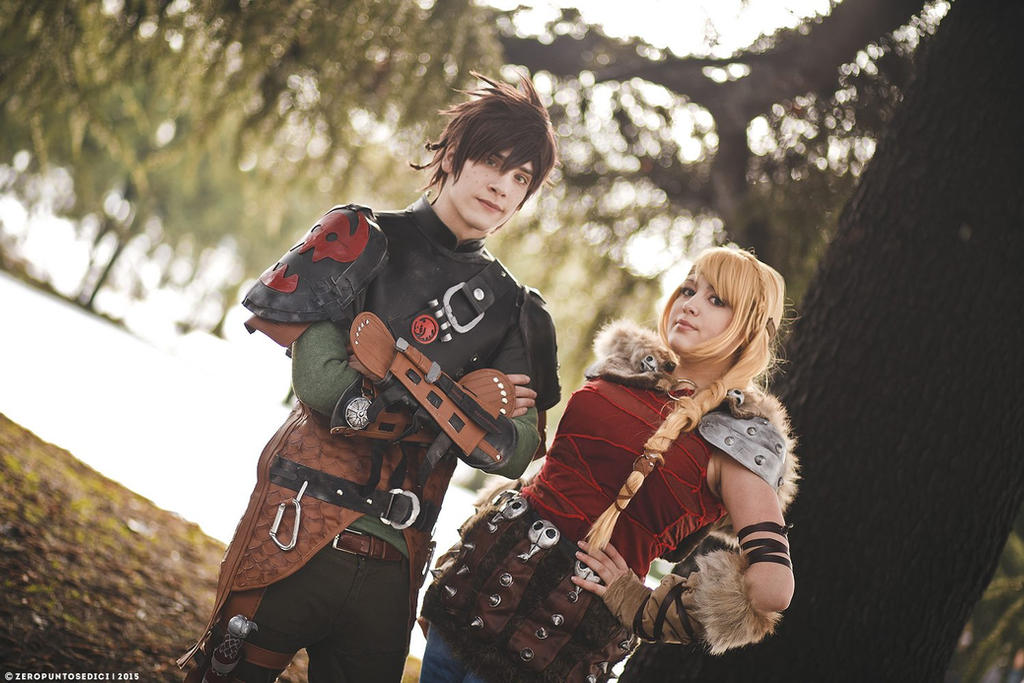 How to train your dragon 2 hiccup and astrid ii by yamatotaichou on