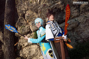 Tales of Zestiria ~ Sorey and Mikleo cosplay by Yamato-Leaphere