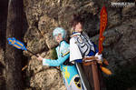 Tales of Zestiria ~ Sorey and Mikleo cosplay