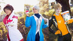 Candela, Blanche and Spark ~ Pokemon GO Cosplay