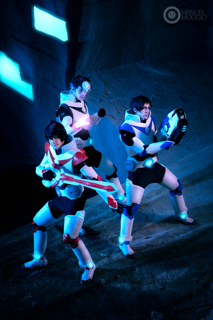 Keith, Shiro and Lance Cosplay ~ Voltron