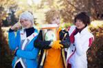 Candela, Blanche and Spark ~ Pokemon GO Cosplay II