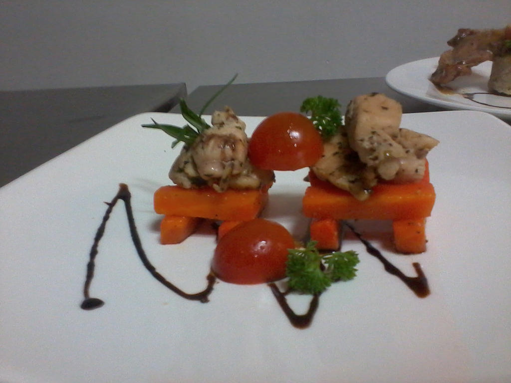 Chicken with white wine by mooninlove