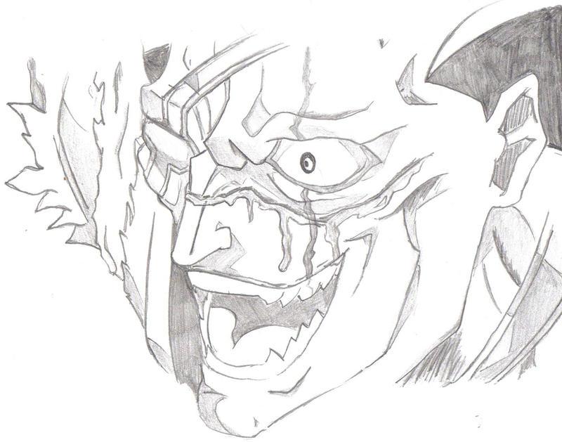 Kenpachi Drawing By Diabound