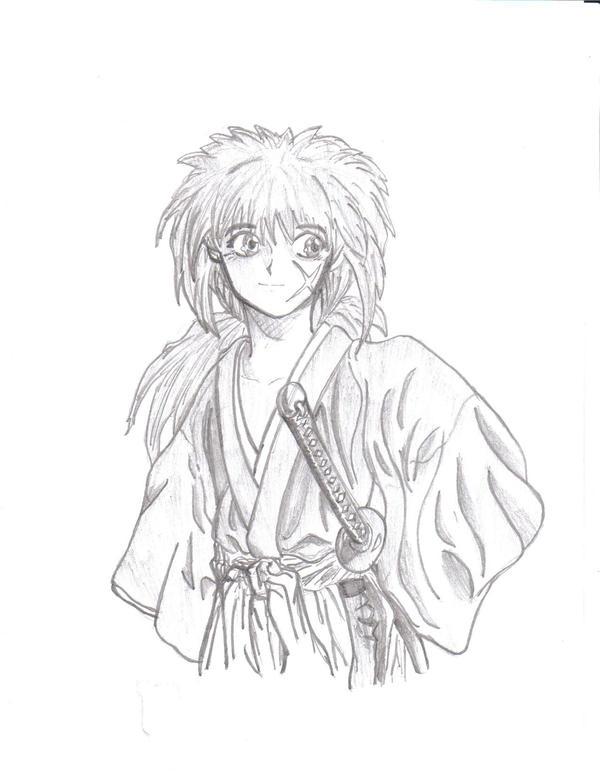 Rurouni Kenshin Drawing By Diabound