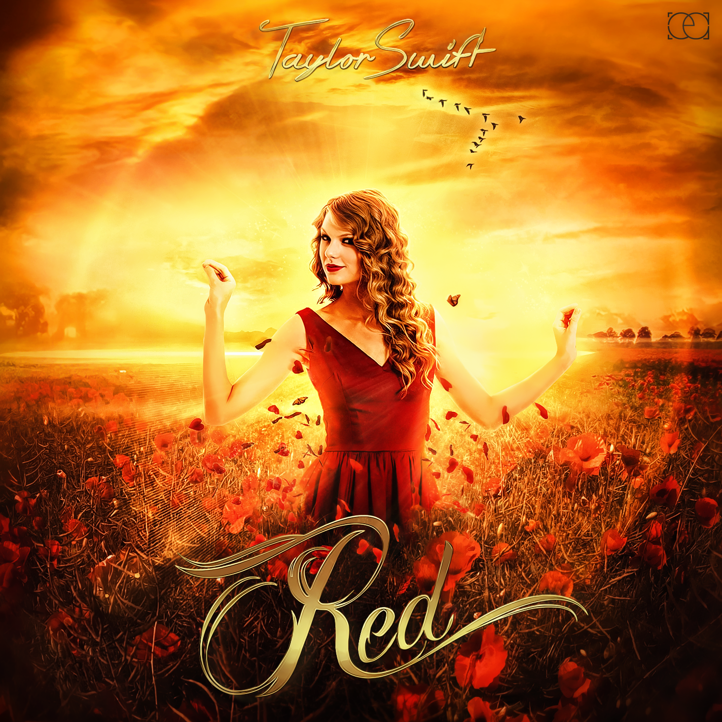 Taylor Swift - Red by ehsandesigns on DeviantArt