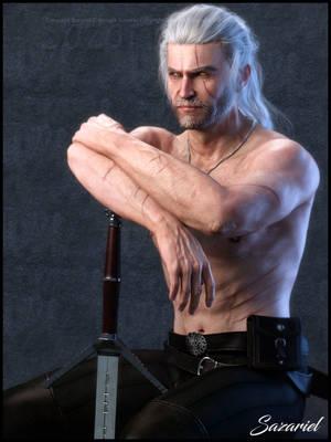 Geralt by Sazariel