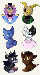 A few doodles by Kiciaukens
