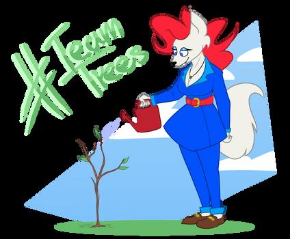 #TeamTrees for KobaltSteel [Comission]