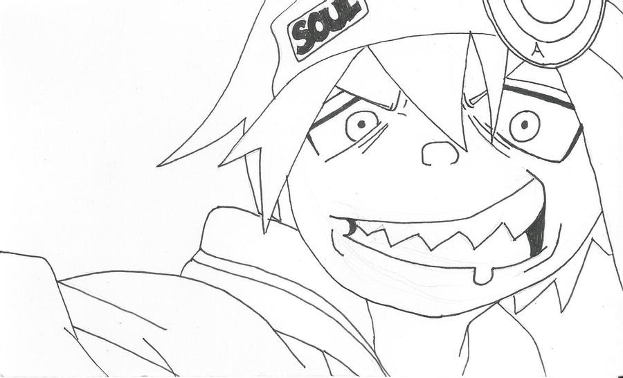 Soul Eater Line Art by bleepbloop559