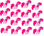 mlp simple background pinkiepie