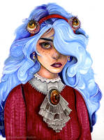 Acantha Malignus by sarahbeeillustration