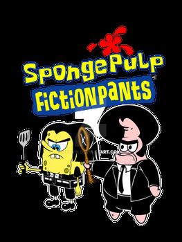 Spongepulp Fiction Pants