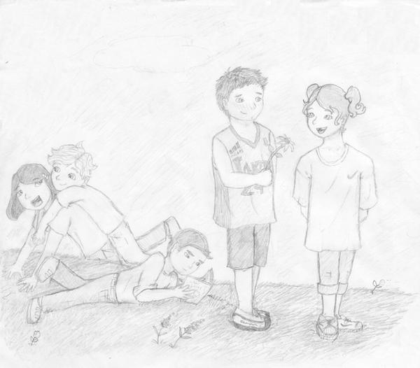 Mentalist Characters as Kids by HawkNelsonLuvrr