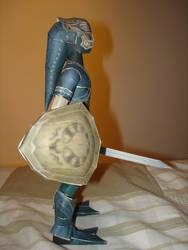 Zora Armor Link Papercraft. by BrunoPigh