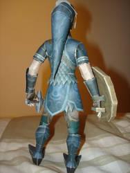 Zora Armor Link Papercraft.. by BrunoPigh