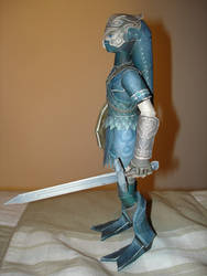 Zora Armor Link Papercraft... by BrunoPigh