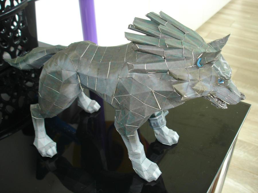 Wolf Link Papercraft by BrunoPigh