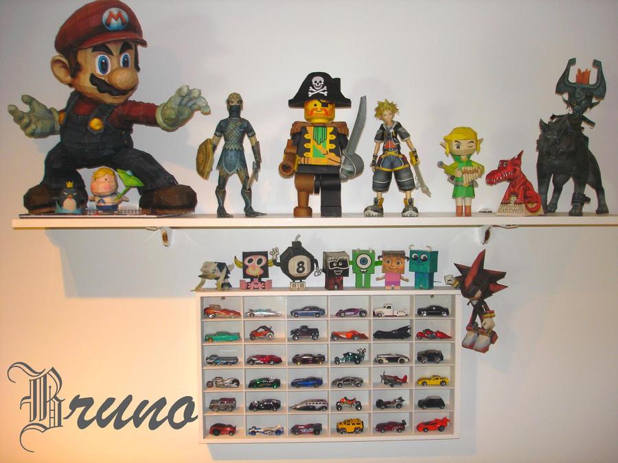 New Shelf by BrunoPigh
