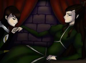 Kid Loki and Leah