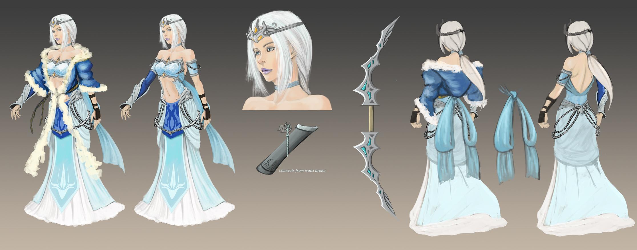 Queen Ashe Redesign by Nahkuman
