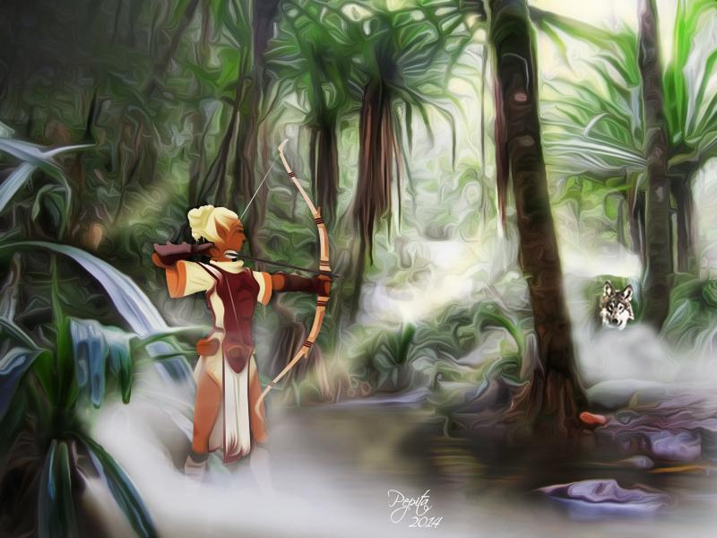 AMAZONE. by PEPITA75
