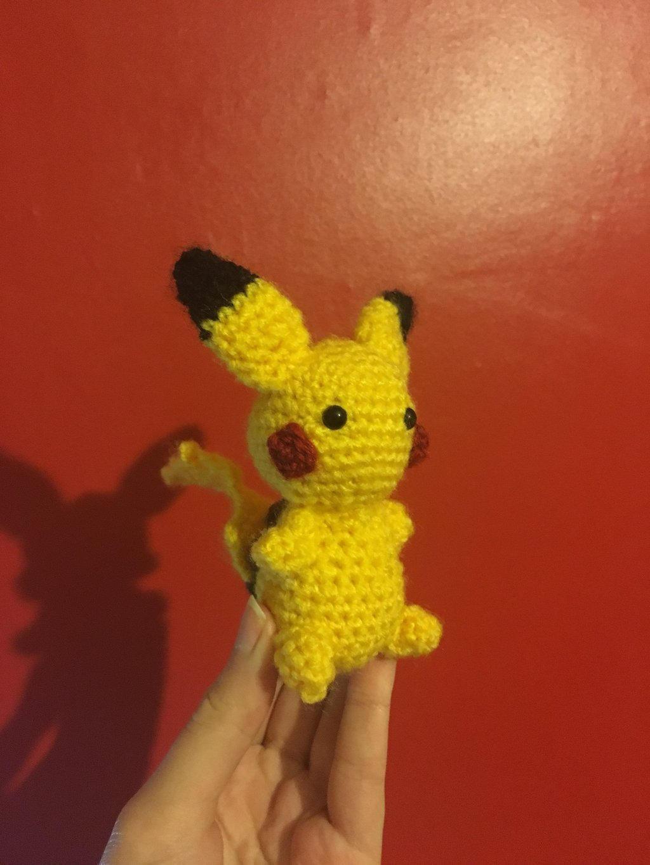 Amigurumi Pikachu by eiramanna on DeviantArt