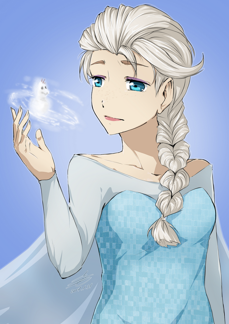 Yes, I want to build a snowman... by Artifedex