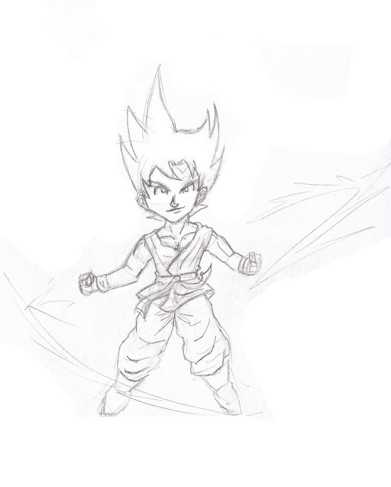 Aska... ¿Artwork? xD Goku_chibi___transformandose_en_ssj_by_quiroh-d52eflf