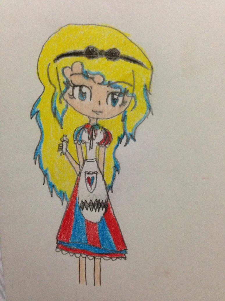 Alice (my version) by littlelonergirl