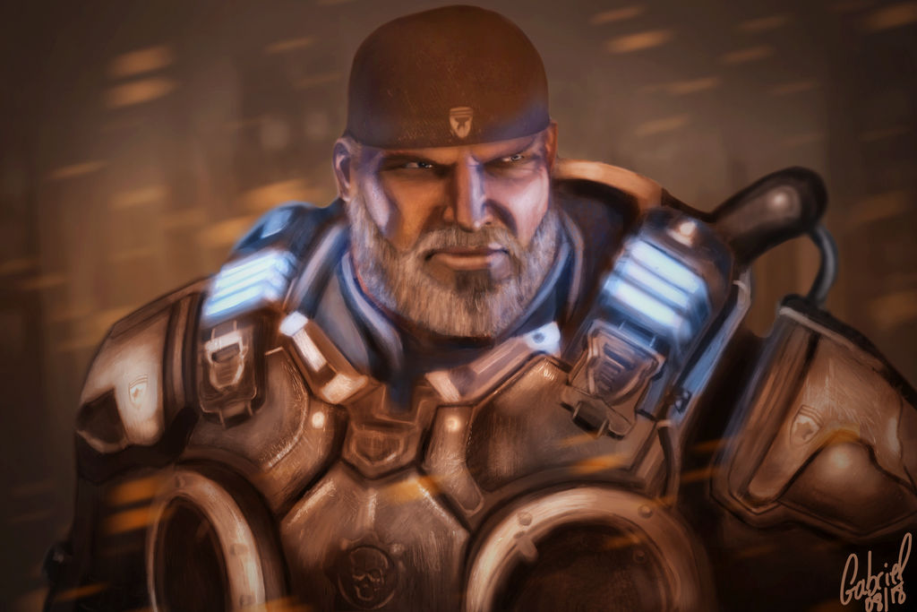 Marcus Fenix Gears Of War 4 By Gmaister On Deviantart