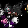 Skullboy: Characters WIP by MetaKnightmareGirl