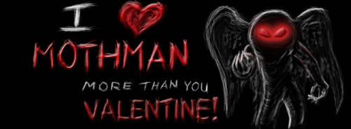 Mothman Valentine! by Darlus