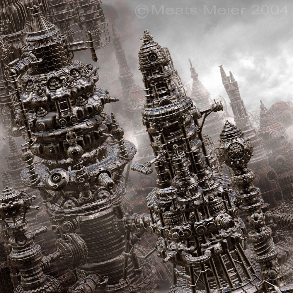 Primitive City by meatsmeier