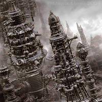 Primitive City by meatsmeier