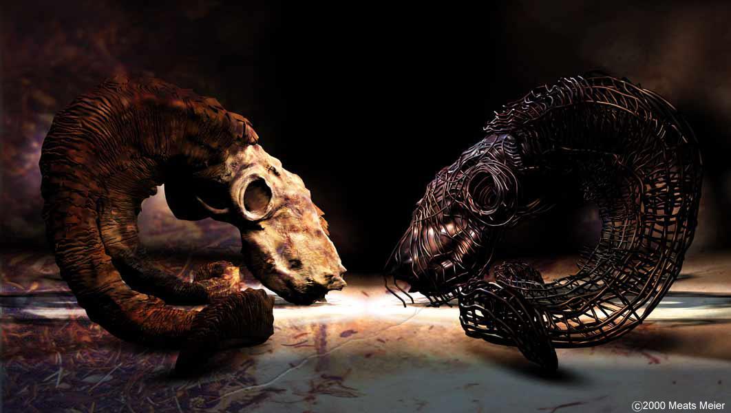Ram Skull Mask Ram sku...