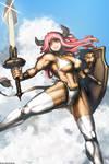 Minotaur Girl