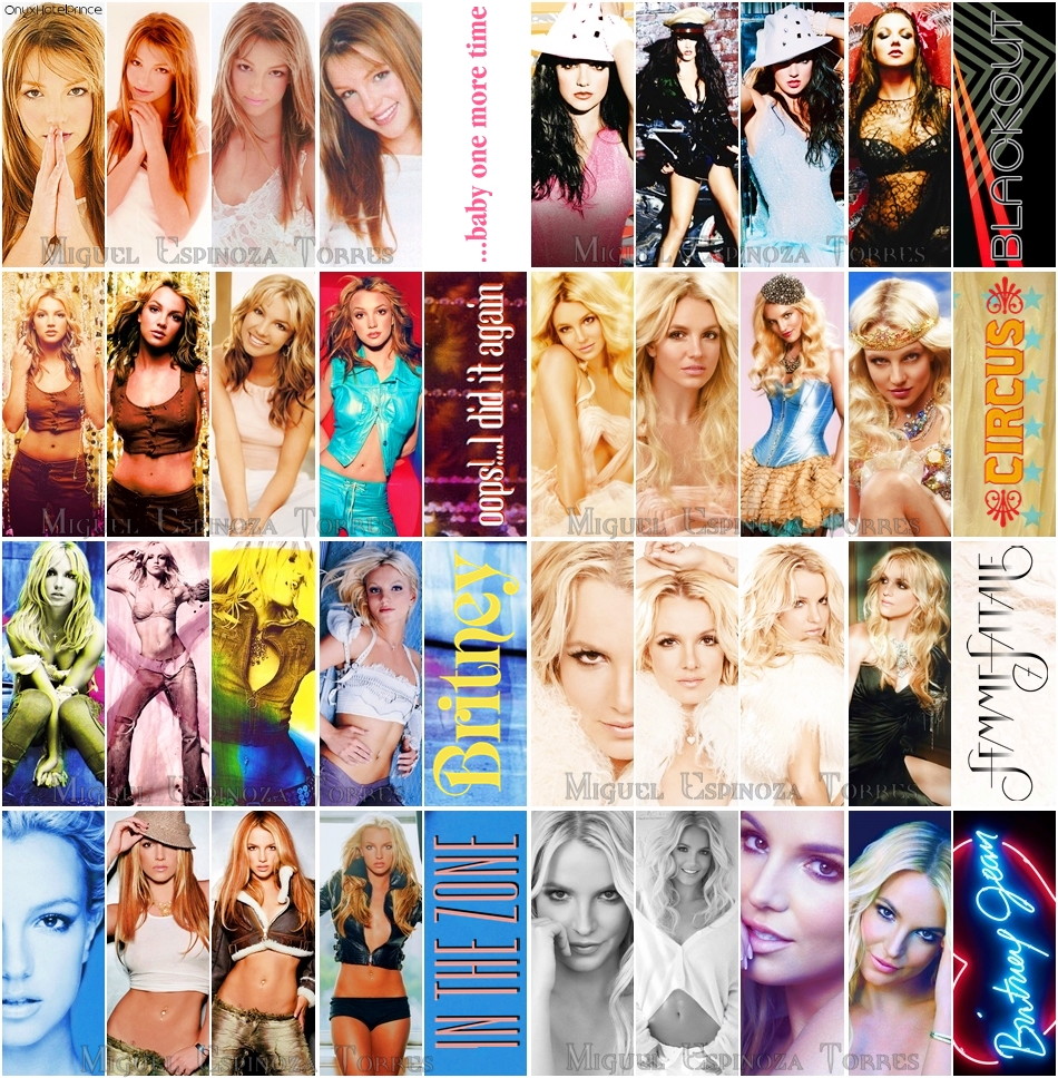 Britney Spears Eras By Onyxhotelprince On Deviantart