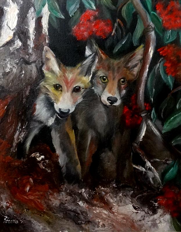 Raposas by rosye