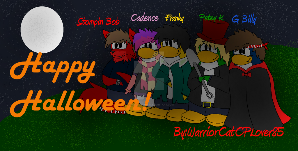Halloween party 2013 by corgi-dragon85