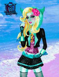 Monster High  - Lagoona Blue by kharis-art