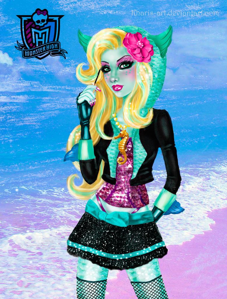 Monster High  Lagoona Blue by kharisart on DeviantArt
