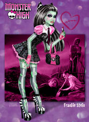 Monster High - Frankie Stein by kharis-art