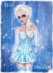 Elsa from Disney's FROZEN