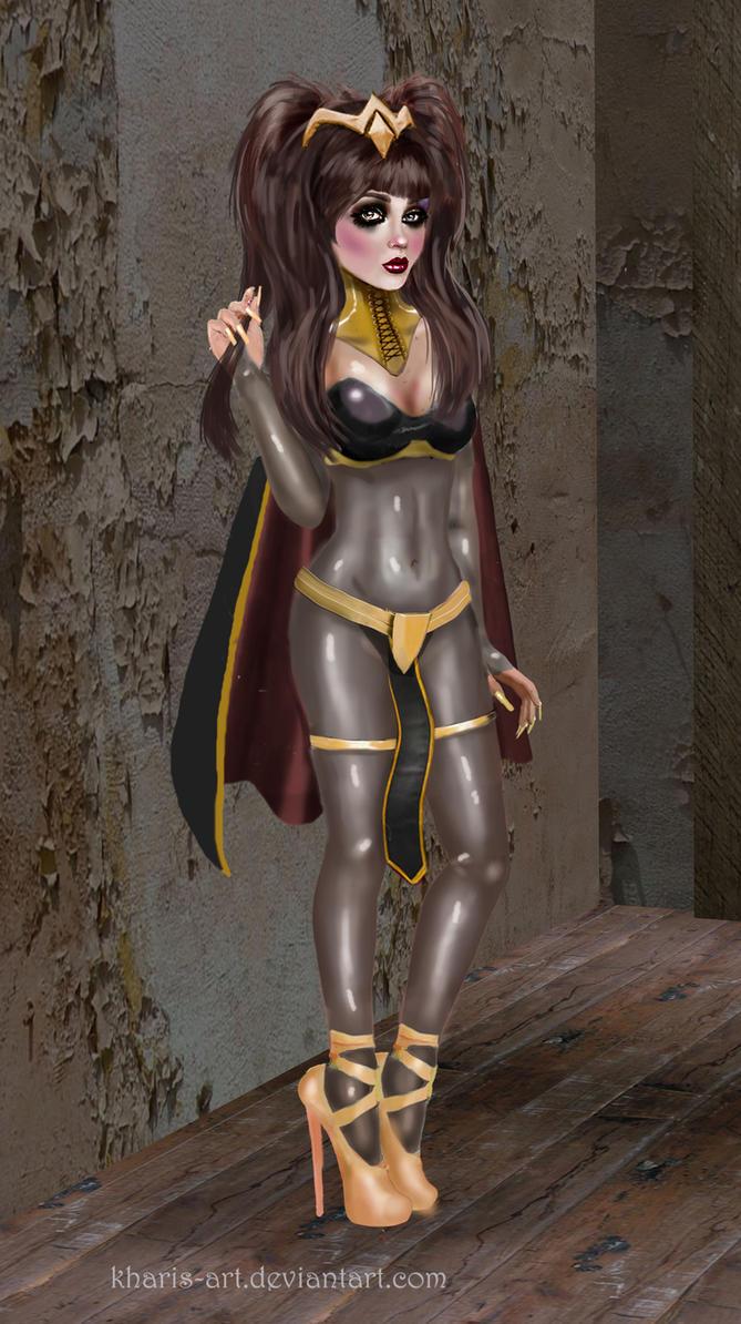 Glam Tharja - Fire Emblem by kharis-art