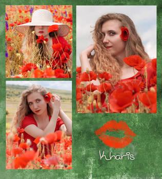 Springtime Reds by kharis-art